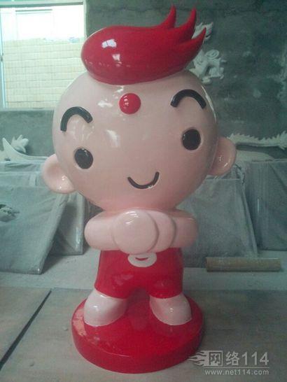 小红娃系列玻璃钢雕塑