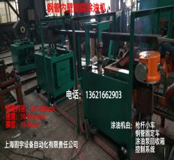Steel pipe inner wall injector