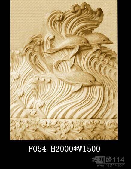 客厅装饰大型中式墙雕