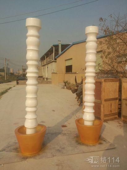 纤维酒店纤维装饰雕塑