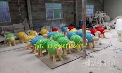 小羊雕塑|羊年美陈装饰|商业活动小羊雕塑