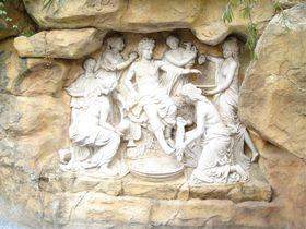希腊抽象人物雕塑(玻璃钢纤维人物雕塑)查看原图(点击放大)