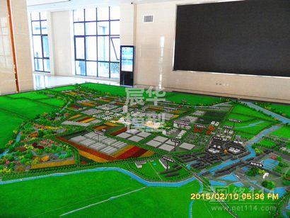 高端专业农业园区沙盘\生态农业沙盘\视觉震撼的科技农业模型