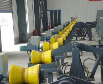 Steel tube conveyor roller