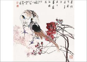 西安书院门画廊收购江文湛作品,收购名人字画查看原图(点击放大)