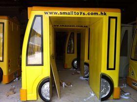 儿童公园大型卡通汽车雕塑价格查看原图(点击放大)