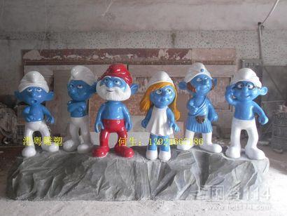 各种卡通公仔玻璃钢雕塑