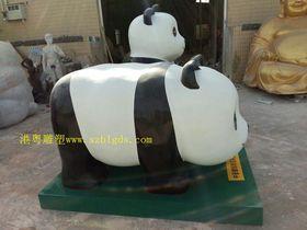 动物园仿真大熊猫雕塑查看原图(点击放大)