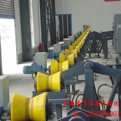 数控车床送料机钢管输送设备柔性输送线