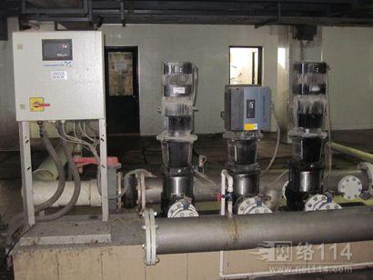 GRUNDFOS补水泵的维修