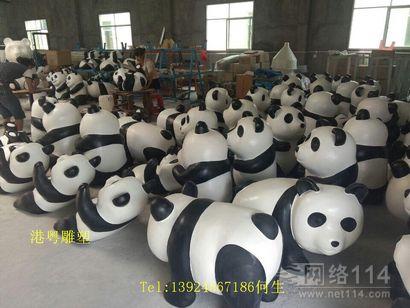 深圳玻璃钢熊猫