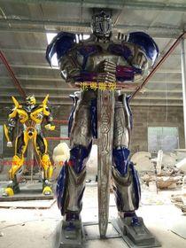 机器人雕塑制作|深圳玻璃钢机器人雕塑厂家查看原图(点击放大)