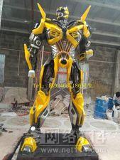 雕塑大黄蜂 玻璃钢大黄蜂雕塑厂家