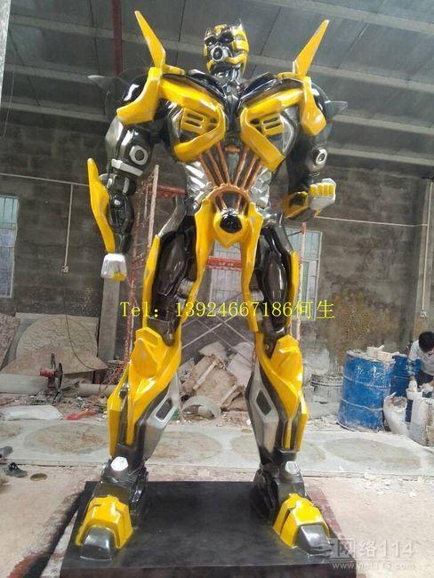 出售变形金刚4造型|变形金刚雕塑制作|大黄蜂价格
