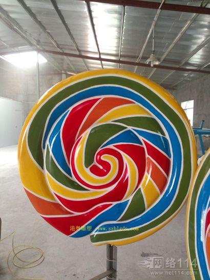 巨型棒棒糖雕塑
