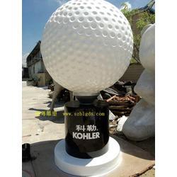 湖南广场高尔夫雕塑