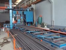 Steel pipe inner and outer wall derusting machine | Automation equipment and equipment