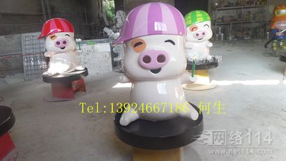 港粤纤维卡通雕塑