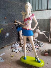 时代广场街头人物造型设计【玻璃钢纤维造型雕塑】查看原图(点击放大)