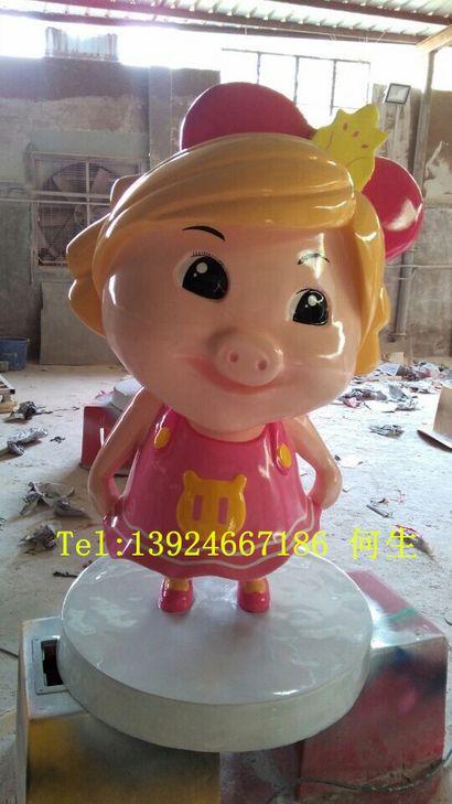 猪猪侠系列之菲菲公主雕塑【玻璃钢纤维动漫雕塑】