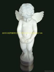 古希腊小天使雕塑【玻璃钢纤维人物雕塑】查看原图(点击放大)