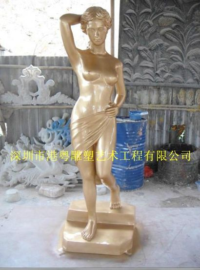 古希腊雕塑作品(玻璃钢纤维人物雕塑)