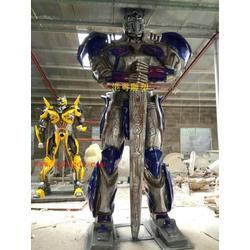机械人玻璃钢雕塑