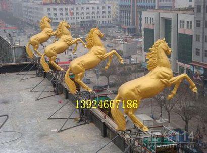酒店大堂雕塑成品