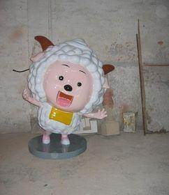 喜羊羊动漫雕塑定制户外卡通雕塑摆件查看原图(点击放大)