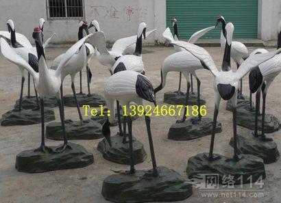 港粤仿真动物玻璃钢雕塑