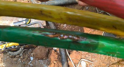 电缆故障检测实测现场