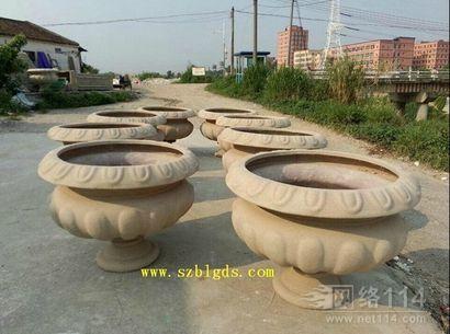 广东花盆玻璃雕塑
