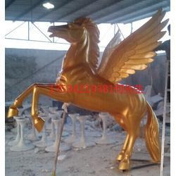 玻璃钢麒麟雕塑深圳飞马动物雕塑厂家