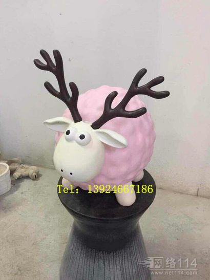 羊年美陈装饰雕塑