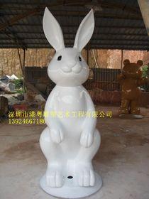 动物园白兔主题摆件玻璃钢雕塑【玻璃钢卡通纤维雕塑】查看原图(点击放大)