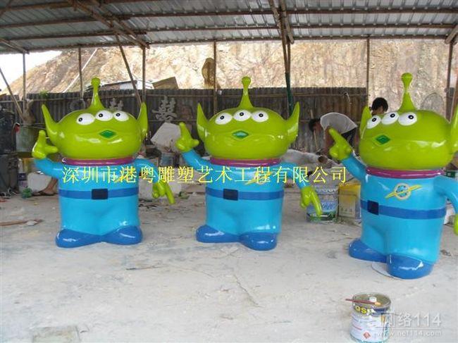 深圳动漫卡通雕塑制作