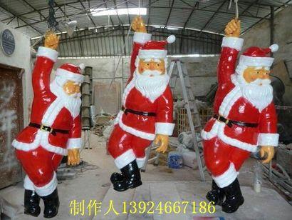 定制圣诞节圣诞老人雕塑