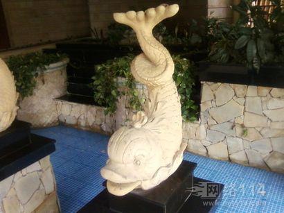 仿真海豚雕塑定制【玻璃钢纤维动物雕塑】