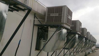 广西XF型工业冷风机 广西商用型冷风机 负压风机低噪音抽风