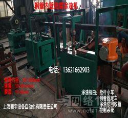 上海固宇钢管喷漆机