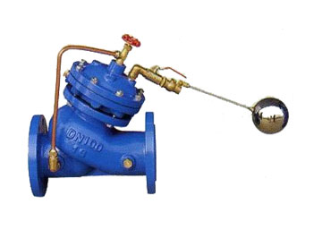 f745x活塞式遥控浮球阀 河北水箱液位控制阀图片