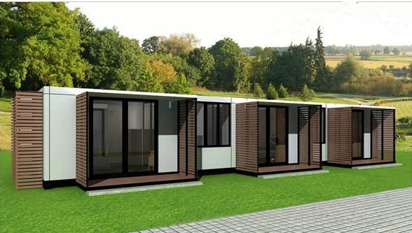 产品频道 工程机械 市政环卫设备 移动厕所 欧式移动房屋  新型钢结构图片
