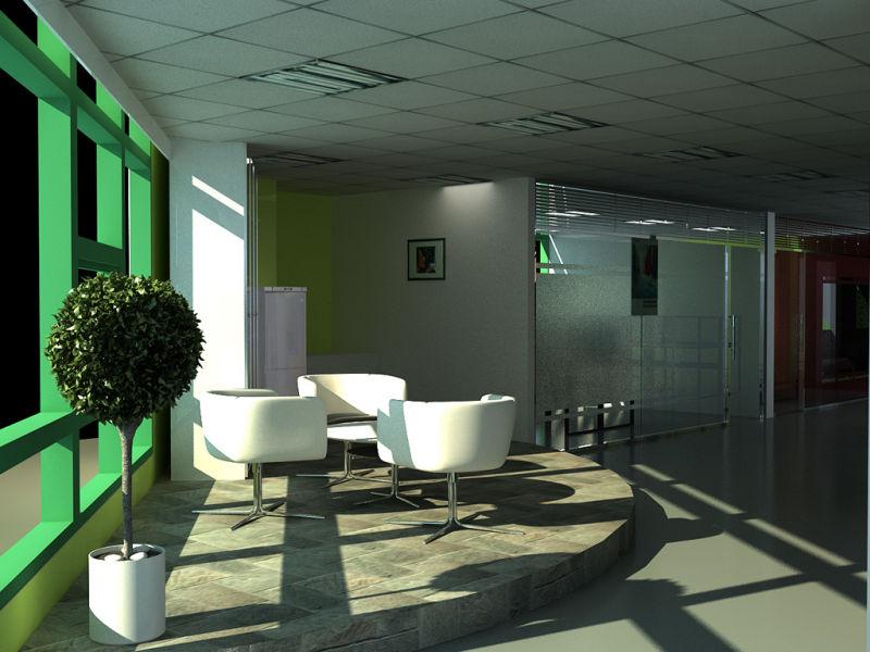 上海写字楼装修设计-办公室茶水间墙面瓷砖用哪种比较好高清图片