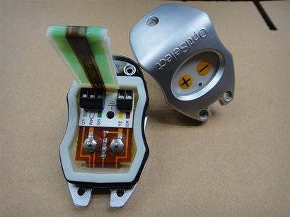 OPTI金马喷枪智能控制后盖,Gema金马喷枪控制调节后盖