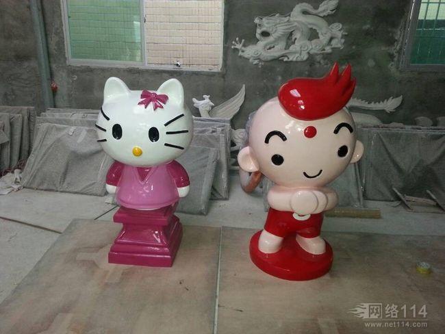 上海玻璃钢卡通雕塑