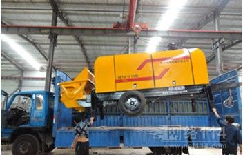 青海省西宁市混凝土湿喷机整体热动力设计