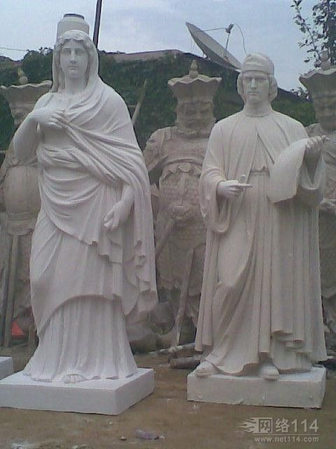 西方名人雕塑
