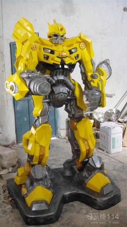玻璃钢大黄蜂雕塑