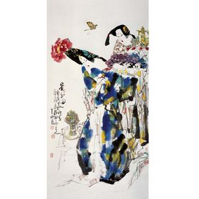 王西京作品收购收藏市场的一个价格转折点查看原图(点击放大)