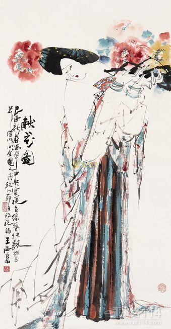 王西京作品收购收藏市场从喧嚣逐渐走入平静